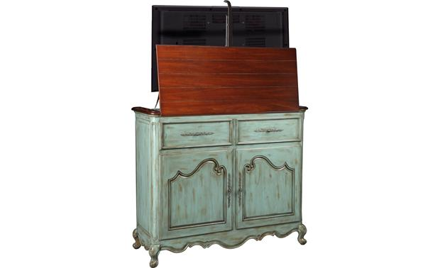 UpLift Belle Weathered blue - back (TV not included)