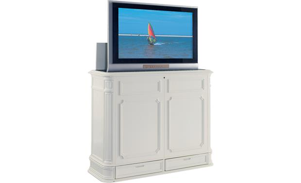 UpLift Crystal Pointe White (TV not included)