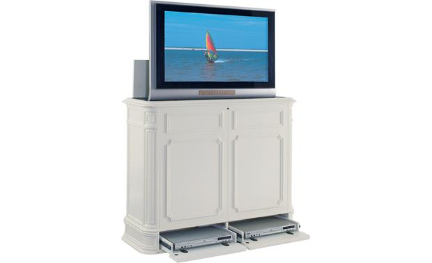 UpLift Crystal Pointe White (TV and components not included)