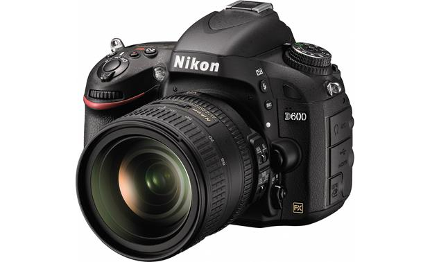 Nikon D600 with 3.5X Zoom Lens Front