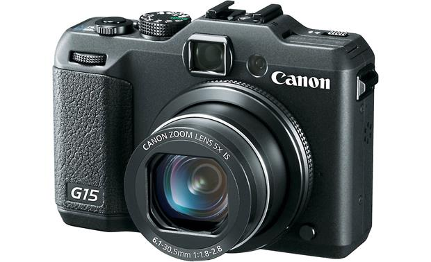 Canon PowerShot G15 Front