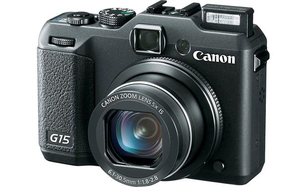 Canon PowerShot G15 With built-in flash