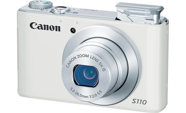 Canon PowerShot S110 With built-in flash