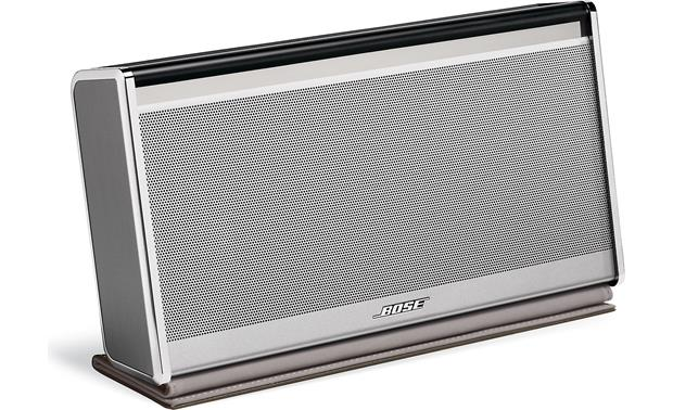 Bose&reg; SoundLink&reg; <em>Bluetooth&reg;</em> Mobile speaker II &#151; Leather Edition Silver finish, dark brown leather cover