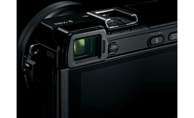 Sony Alpha NEX-6 (no lens included) Super-high resolution OLED viewfinder