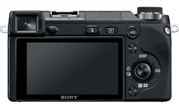 Sony Alpha NEX-6 Back
