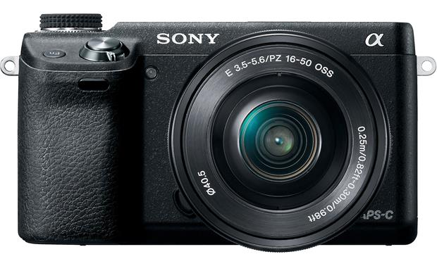 Sony Alpha NEX-6 Front, straight-on