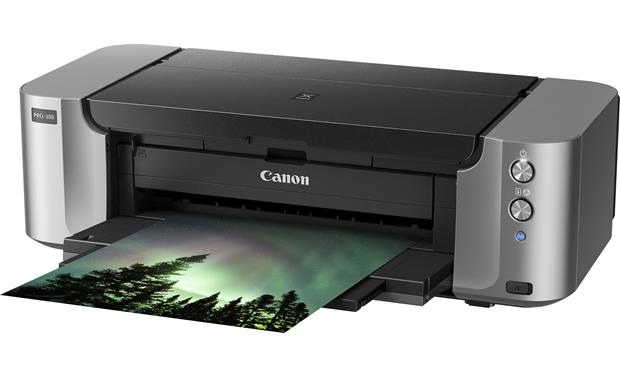 Canon PIXMA Pro-100 Front tray open