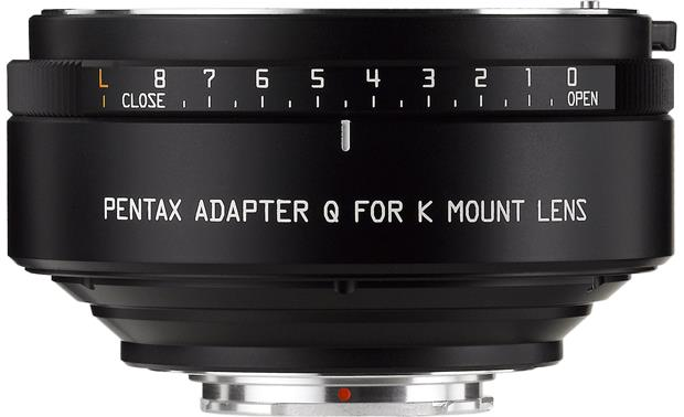Pentax Q to K Lens Adapter Front