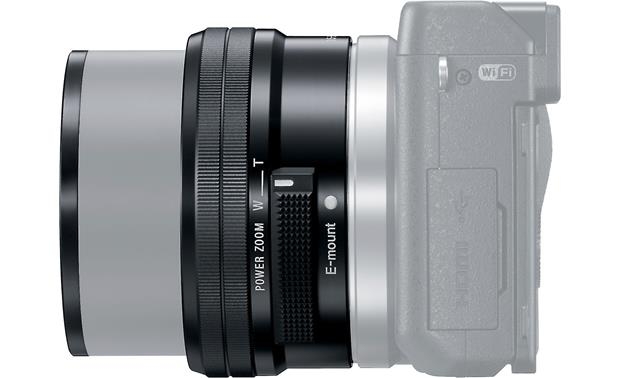 Sony SELP1650 16-50mm f/3.5-5.6 OSS Shown fully extended on an NEX-Series camera (not included)