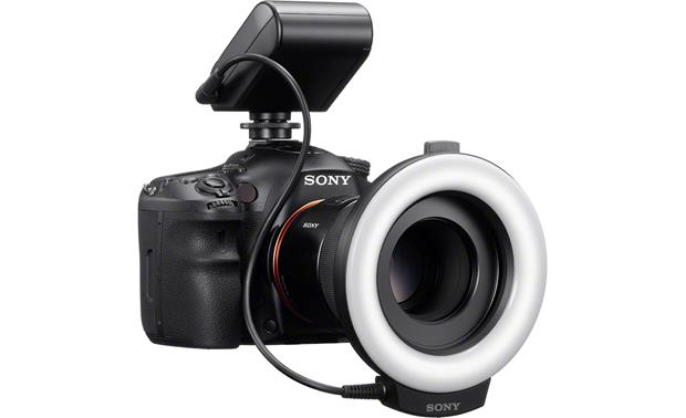 Sony HVL-RL1 Shown mounted on camera (not included)