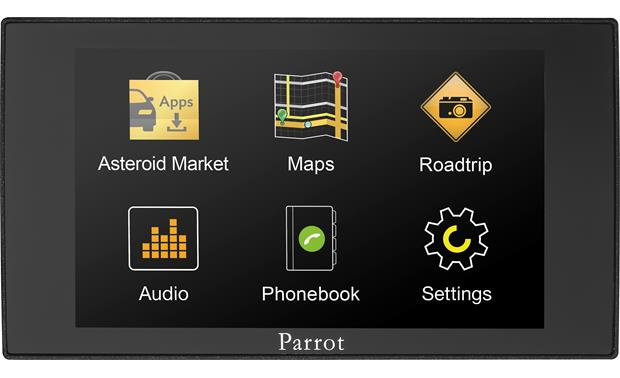 Parrot asteroid mini in car multimedia system with bluetooth at parrot asteroid mini front greentooth Image collections