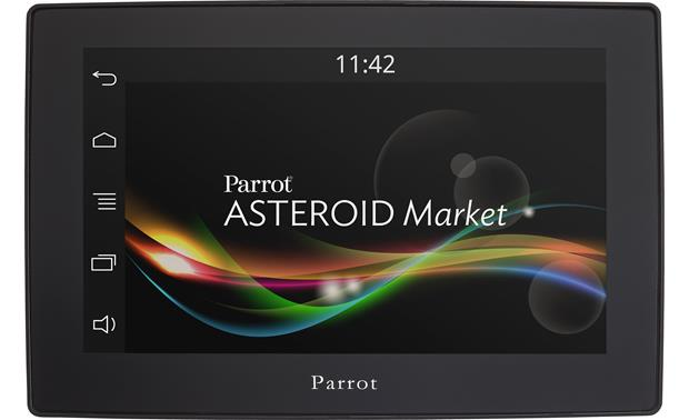 Parrot asteroid tablet in car multimedia system with bluetooth at parrot asteroid tablet front greentooth Image collections
