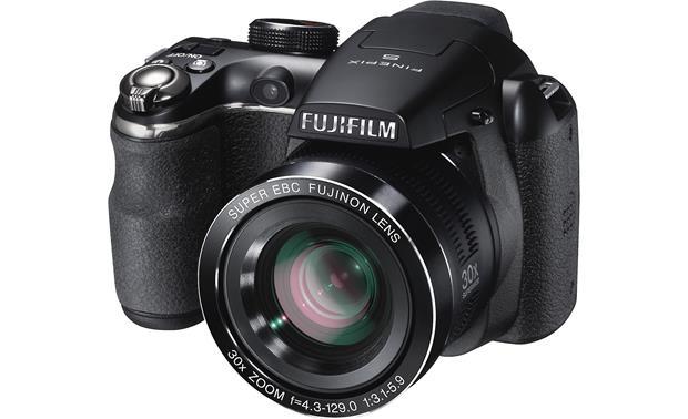 fujifilm finepix s4500 14 megapixel digital camera with 30x optical rh crutchfield com Fuji S4500 USB Cable a V Fuji S4500 Digital Camera Bag