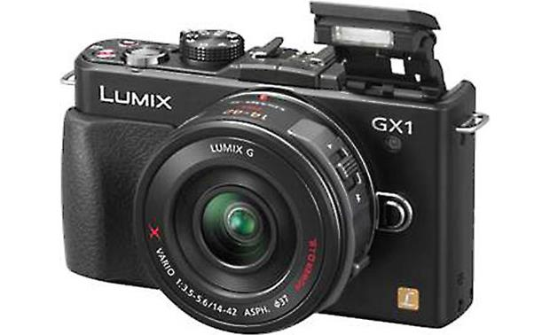 Panasonic Lumix DMC-GX1K Power Zoom Kit Front