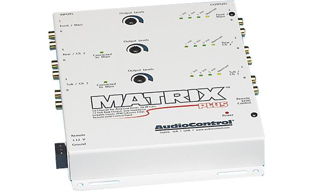AudioControl Matrix Plus Front