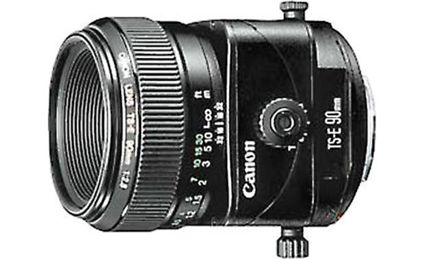 Canon TS-E 90mm f/2.8 Tilt Shift Lens Front