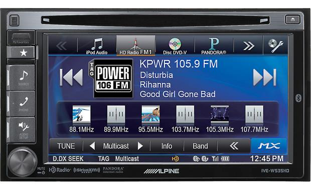 Alpine IVE-W535HD Front