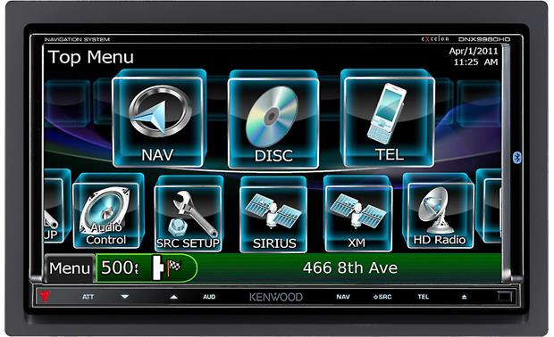 Kenwood Excelon DNX9980HD Front