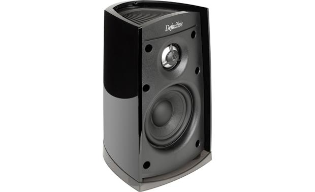 Definitive Technology ProCinema 400 Satellite speaker shown with grille removed