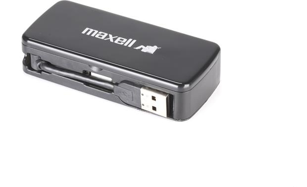 Maxell USB Hub/Multi Card Reader Front