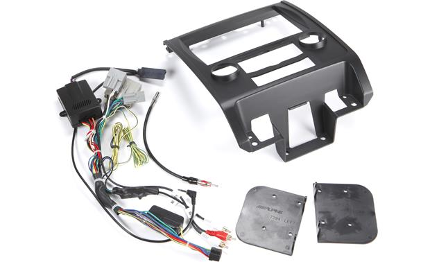 Alpine KTX-ECP8 Restyle Dash and Wiring Kit Kit and adapter package