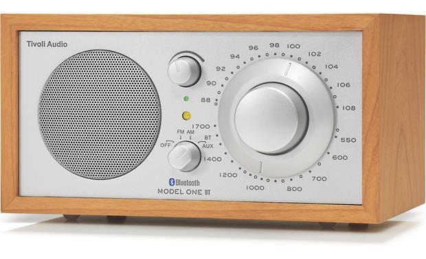 tivoli audio model one bt cherry silver am fm radio. Black Bedroom Furniture Sets. Home Design Ideas