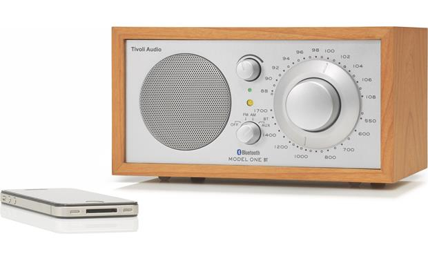 Tivoli Audio Model One® BT Cherry/Silver (iPhone not included)