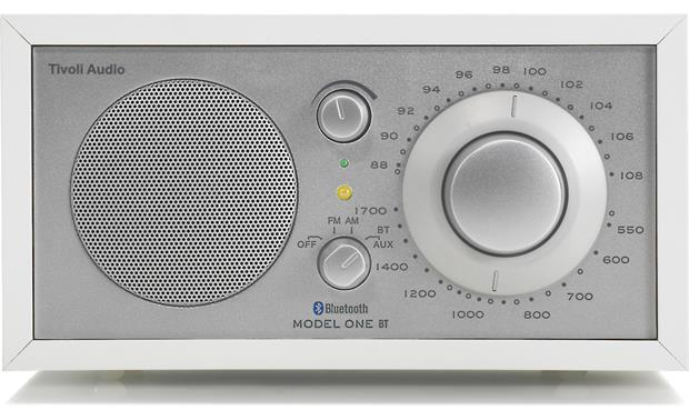 Tivoli Audio Model One® BT White/Silver - front