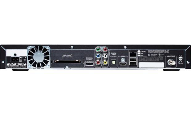 TiVo® Premiere 4 Internet-ready DVR records digital cable TV