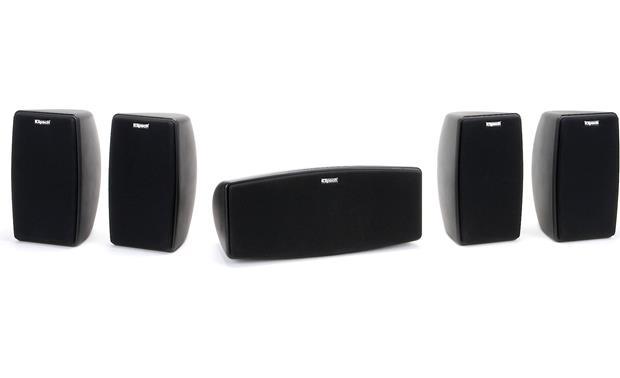 Klipsch Quintet 5 Speaker Home Theater System At