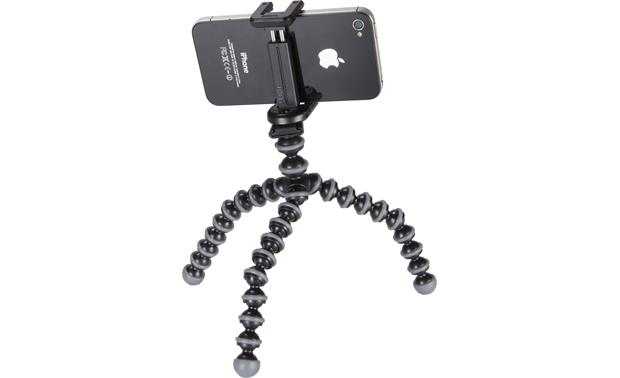 Joby GripTight GorillaPod Stand From back, with smartphone (not included)