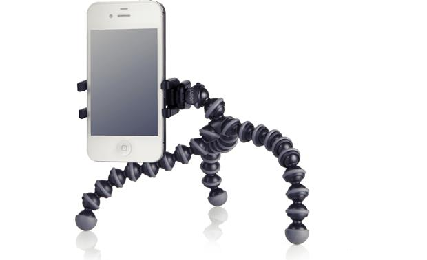 Joby GripTight GorillaPod Stand Front, with smartphone (not included)