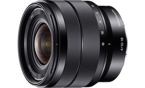 Sony SEL1018 10-18mm f/4 Front