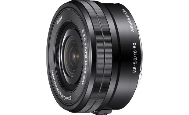 Sony SELP1650 16-50mm f/3.5-5.6 OSS Front