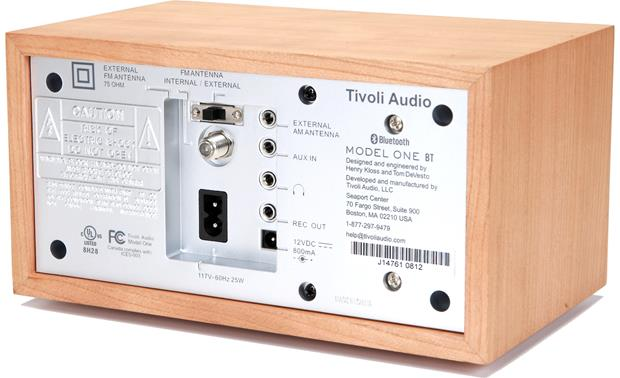 Tivoli Audio Model One® BT Cherry/Silver - back