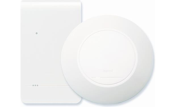 On-Q In-Wall/In-Ceiling Wireless Access Point Front (Rectangular and round cover plates included.)