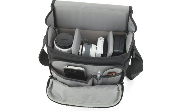 Lowepro Event Messenger 100 Shown fully packed (gear not included)