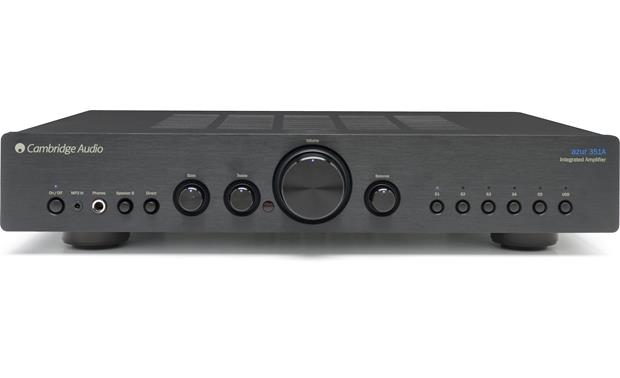 Cambridge Audio Azur 351A Front (Black)