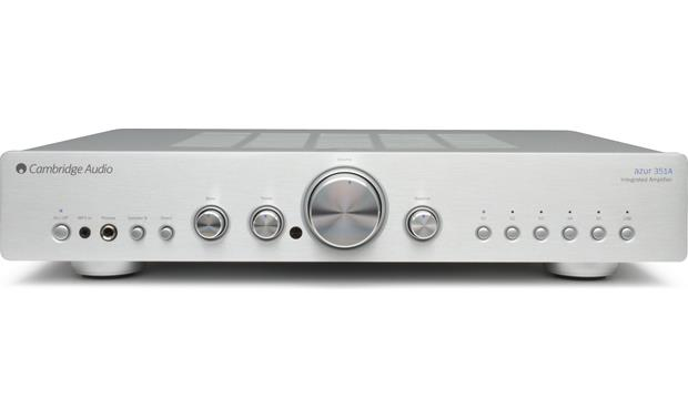 Cambridge Audio Azur 351A Front (Silver)