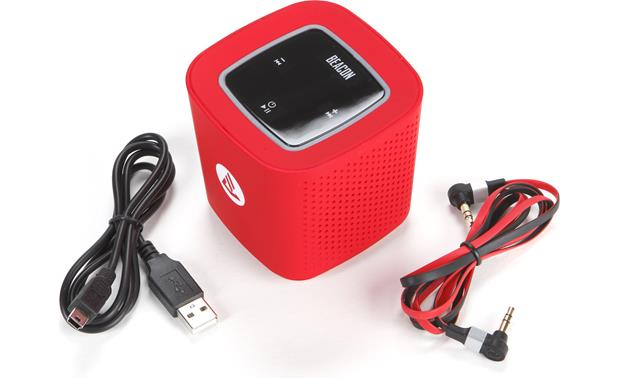 Beacon Audio Phoenix Red - with included accessories