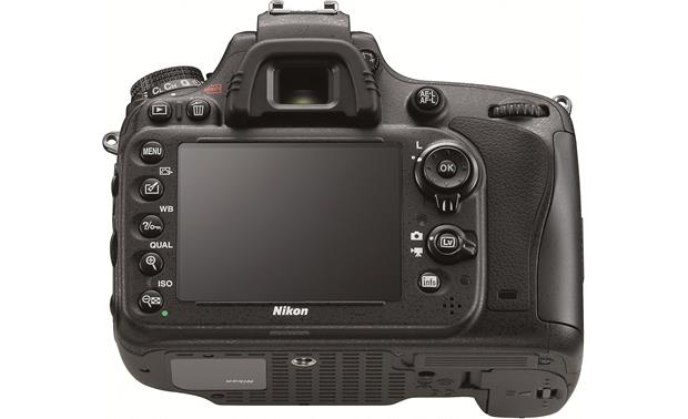 Nikon D600 Camera Bundle Back (lower angle)