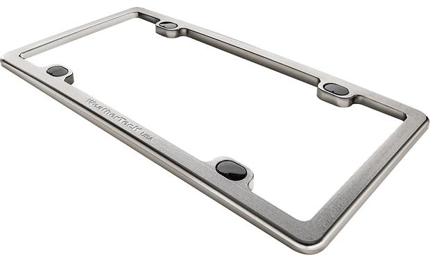 WeatherTech® Billet License Plate Frame Titanium