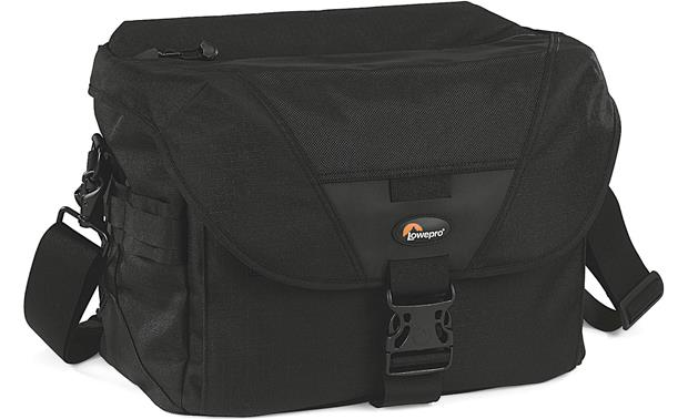 Lowepro Stealth Reporter D550 AW Front, 3/4 angle from left