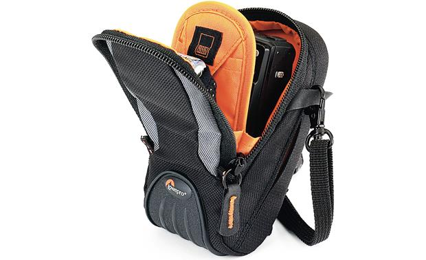 Lowepro Apex 30 AW Shown fully packed (gear not included)