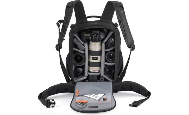 Lowepro Flipside 400 AW Interior view (contents not included)