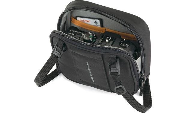 Lowepro Munich 30 Holds compact digital camera and memory cards (not included)