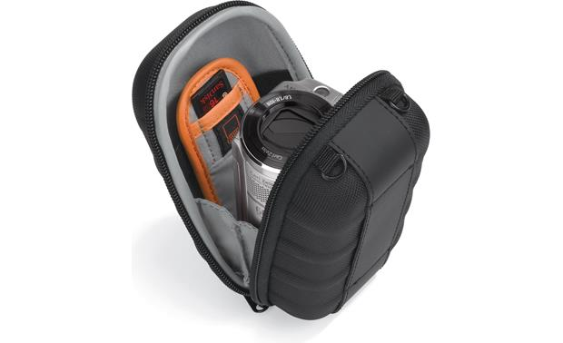 Lowepro Santiago DV 35 Shown fully packed (gear not included)