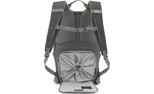 Lowepro Photo Hatchback 16L AW Camera compartment with water-resistant cover