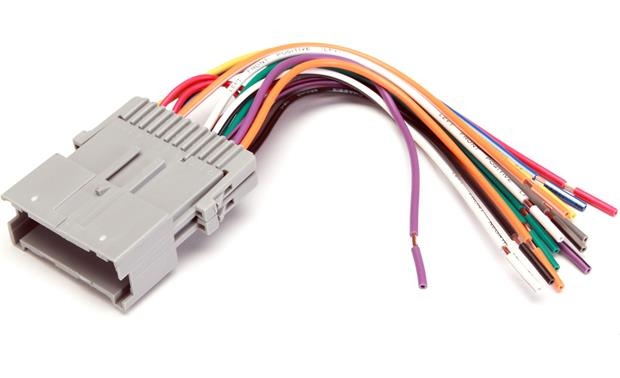 metra 70 2002 receiver wiring harness connect a new car stereo in select 2000 05 chevrolet and